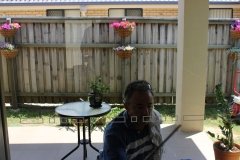 An expert window cleaner in Caloundra